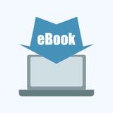 EBook projekt Zdjęcia Stock