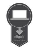 EBook projekt Obraz Stock