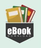 EBook projekt Obrazy Stock