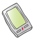 EBook Reader. A colourful electronic book also known as a pda or ebook reader vector illustration