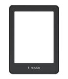 Ebook reader concept Royalty Free Stock Image