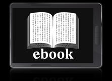 Ebook reader device Stock Image