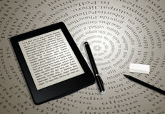 Ebook reader Stock Photo