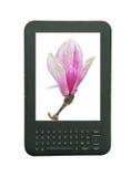 Ebook, technologie, digitale lezer Stock Afbeelding