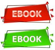 Ebook tecken Royaltyfri Fotografi