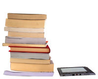EBook und Bücher Lizenzfreie Stockbilder