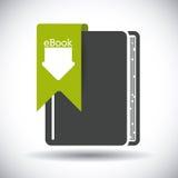 EBookontwerp Royalty-vrije Stock Foto's