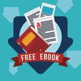 EBookontwerp Royalty-vrije Stock Fotografie