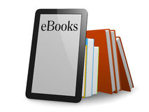 Ebooks vector illustratie