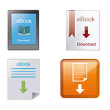 Ebooks Imagens de Stock Royalty Free