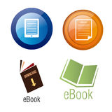 Ebooks Imagem de Stock Royalty Free
