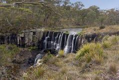 Ebor Falls, New South Wales, Australia stock images