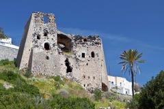 Eborio village at Santorini island, Greece Royalty Free Stock Photo
