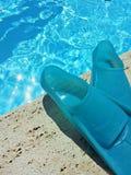 Żebra dla pływania Zdjęcia Royalty Free