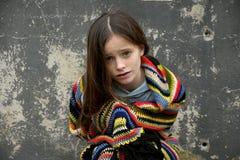 Żebrak dziewczyna fotografia stock