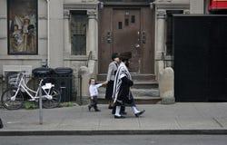 Ebrei a Brooklyn, New York Immagine Stock Libera da Diritti
