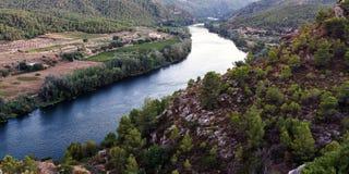Ebro river Stock Photography