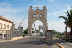 Ebro bridge Stock Photo