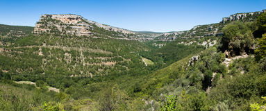 Ebro canyon Royalty Free Stock Photography