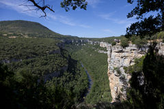 Ebro Canyons, Burgos Royalty Free Stock Photos