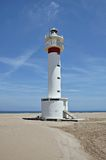 The ebro delta lighthouse royalty free stock images