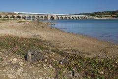 Ebro reservoir, Burgos Stock Image