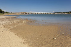 Ebro reservoir, Burgos Royalty Free Stock Photography