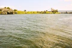 Ebro River in Spain Stock Photos