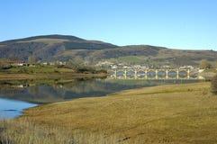 Ebro-Vorratsbehälter Lizenzfreies Stockfoto