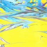Ebru abstracto del vector Foto de archivo