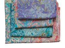 Ebru de cuatro bufandas Fotografía de archivo