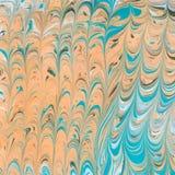 Ebru del abtract di vettore Fotografia Stock Libera da Diritti