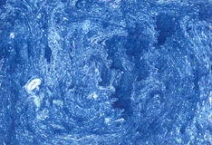Ebru gouache blue wash drawing  soft background for web and prin Royalty Free Stock Image