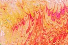Ebru- marmeren document vector illustratie