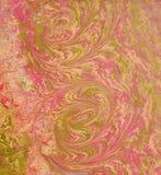 Ebru red pink 1 Royalty Free Stock Photos