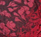 Ebru sur la soie 2 Image stock
