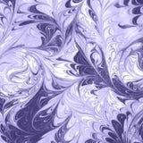Ebru-Zusammenfassungsfarbe auf Wasser Lizenzfreies Stockbild