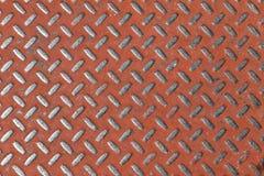 Żebrująca metal ściany tekstura Obrazy Stock