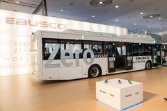 EBUSCO elektryczny autobus przy IAA 2016 Zdjęcie Stock