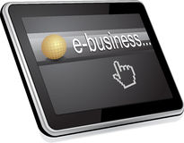 Ebusiness Stock Photo