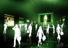 Ebusiness-Konzept 3 Lizenzfreie Stockfotos