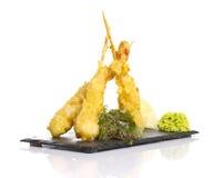 Eby shrimp in tempura  Stock Image