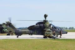 EC665 επιθετικό ελικόπτερο τιγρών Στοκ Εικόνα