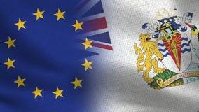 EC и половина великобританской антартической территории реалистическая сигнализируют совместно бесплатная иллюстрация