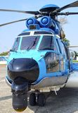 EC-225直升机 图库摄影