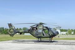 EC 135德国武力 免版税库存图片