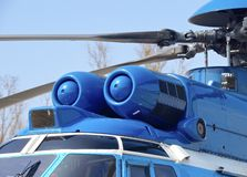 EC-225 helicopter Stock Images