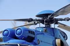 EC-225 helicopter Stock Image