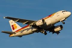 EC-KOY Iberia, Airbus A319-111 Stock Images