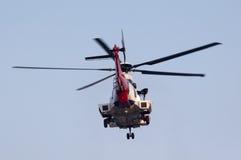 EC225 ratuneku helikopter Fotografia Stock